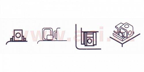baterie 12V, YTZ10S-BS, 8,6Ah, 190A, bezúdržbová MF AGM 150x87x93, A-TECH (vč. balení elektrolytu)