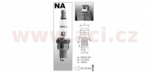 zapalovací svíčka NAR14YC řada Super, BRISK - Česká Republika