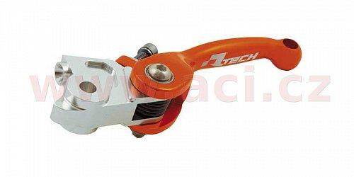 spojková páčka KTM (pumpa MAGURA HYMEC SERIE 167), RTECH (oranžová)