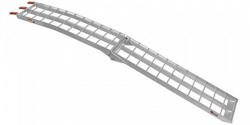 nájezdová rampa - skládací - MX hliníková široká, Q-TECH (1 ks)