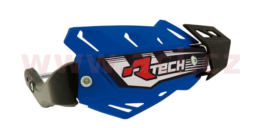 kryty páček FLX ATV, RTECH (modré odst. Yamaha YZF, 4 varianty v 1, vč. montážní sady)